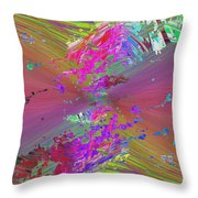 Abstract Cubed 136 Throw Pillow