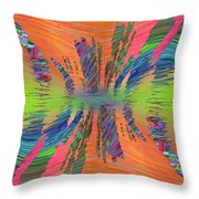 Abstract Cubed 168 Throw Pillow
