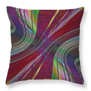 Abstract Cubed 181 Throw Pillow