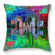 Abstract Cubed 19 Throw Pillow