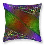 Abstract Cubed 193 Throw Pillow