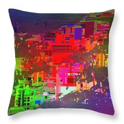 Abstract Cubed 2 Throw Pillow