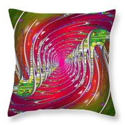 Abstract Cubed 218 Throw Pillow