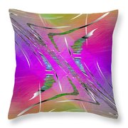 Abstract Cubed 223 Throw Pillow