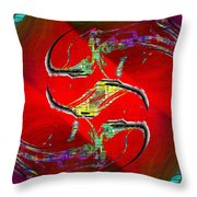 Abstract Cubed 229 Throw Pillow