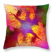 Abstract Cubed 26 Throw Pillow