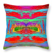 Abstract Cubed 30 Throw Pillow