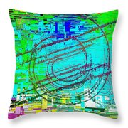 Abstract Cubed 41 Throw Pillow