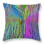 Abstract Cubed 63 Throw Pillow