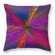 Abstract Cubed 95 Throw Pillow