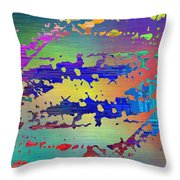 Abstract Cubed 99 Throw Pillow