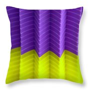 Abstract Cups Throw Pillow