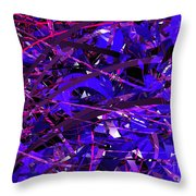 Abstract Curvy 16 Throw Pillow