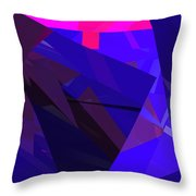 Abstract Curvy 17 Throw Pillow