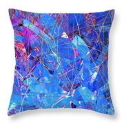 Abstract Curvy 30 Throw Pillow