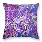 Abstract Curvy 32 Throw Pillow