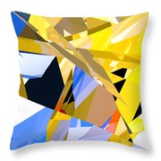 Abstract Curvy 35 Throw Pillow