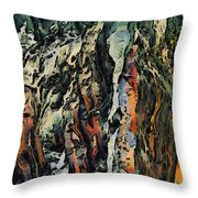 Abstract Throw Pillow by Dancin Artworks