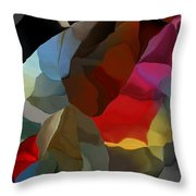 Abstract Distraction Throw Pillow