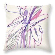 Abstract Drawing Fifty-six Throw Pillow