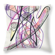 Abstract Drawing Twenty-six Throw Pillow
