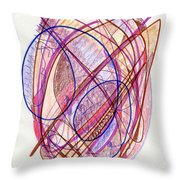 Abstract Drawing Twenty-two Throw Pillow