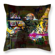 now You raised my head above my surrounding enemies 7b f Throw Pillow