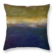 Abstract Dunes Ll Throw Pillow