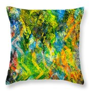 Abstract - Emotion - Admiration Throw Pillow