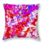 Abstract Series Ex2 Throw Pillow