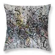 Abstract Expressionism 221 Throw Pillow