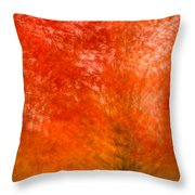 Abstract Fall 18 Throw Pillow