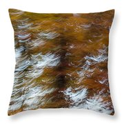 Abstract Fall 9 Throw Pillow