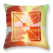 Abstract Five-storied Pagoda 1 Throw Pillow