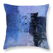 Abstract Floral - 04tl4t2b Throw Pillow