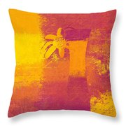 Abstract Floral - M31at1b Throw Pillow by Variance Collections