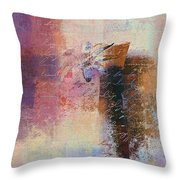 Abstract Floral - Xs01bt2 Throw Pillow