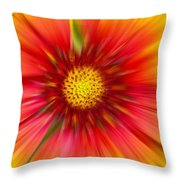 Abstract Flower A Throw Pillow