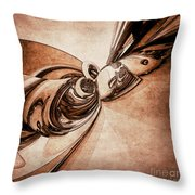 Abstract Form 2 Throw Pillow