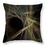 Abstract Fractal Background 01 Throw Pillow