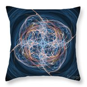 Abstract Fractal Background 08 Throw Pillow