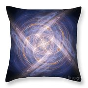 Abstract Fractal Background 17 Throw Pillow