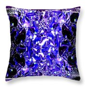 Abstract Fusion 117 Throw Pillow