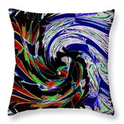 Abstract Fusion 161   Throw Pillow
