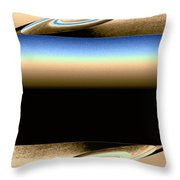 Abstract Fusion 163 Throw Pillow