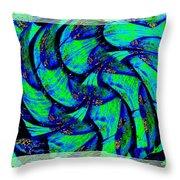 Abstract Fusion 167 Throw Pillow
