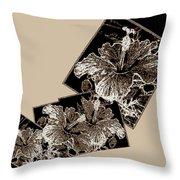 Abstract Fusion 169 Throw Pillow