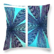 Abstract Fusion 170 Throw Pillow