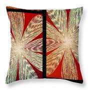 Abstract Fusion 171 Throw Pillow