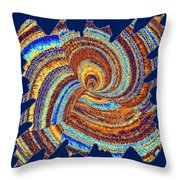 Abstract Fusion 176 Throw Pillow